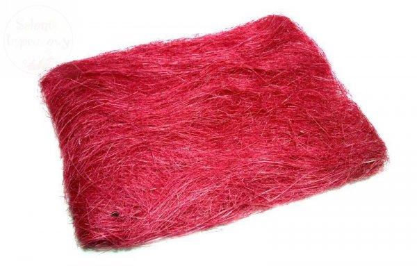 Sizal w woreczku kolor czerwony