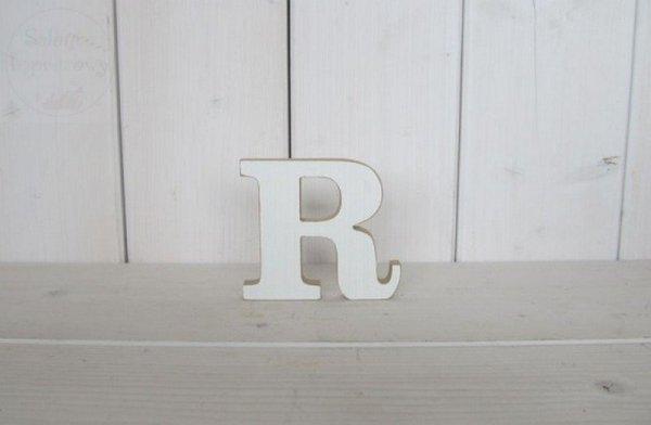 """Litera drewniana wys. 18 cm """"R"""" 1szt"""