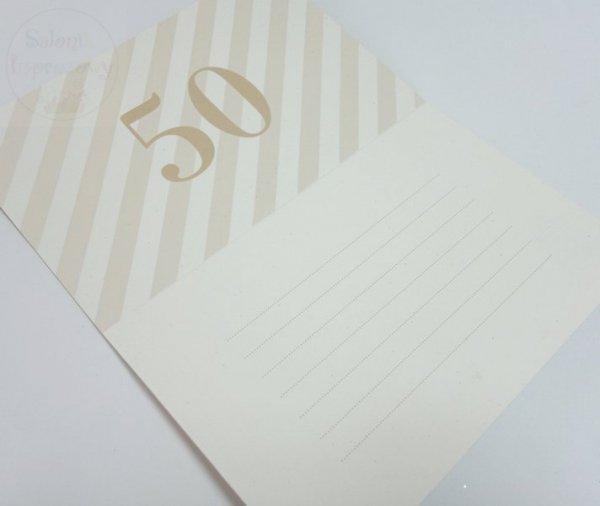 Zaproszenie na 50-tą Rocznicę Ślubu, 50 lat 1szt