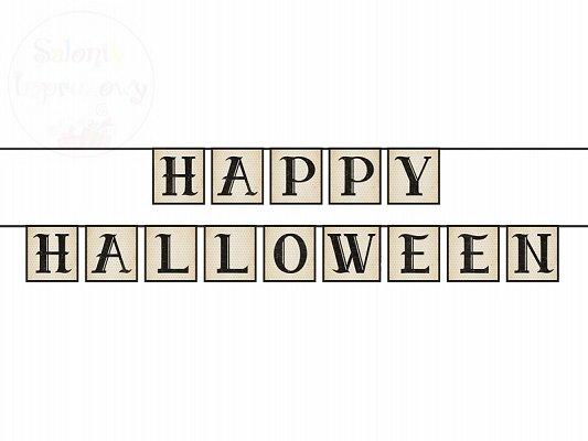 Girlanda  Happy Halloween 14 x 210cm