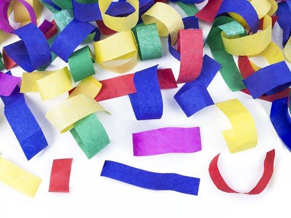 Tuba strzel. kolorowym konfetti 60 cm