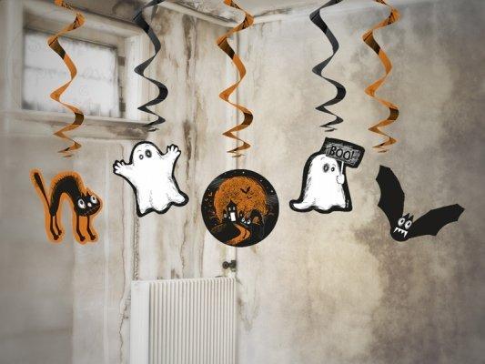 "Świderki halloween ""Boo"" 5szt SWID21"