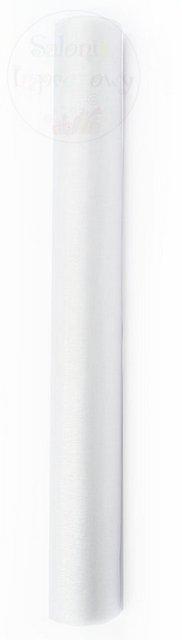Organza 0,36x9m gładka biała ORP-008