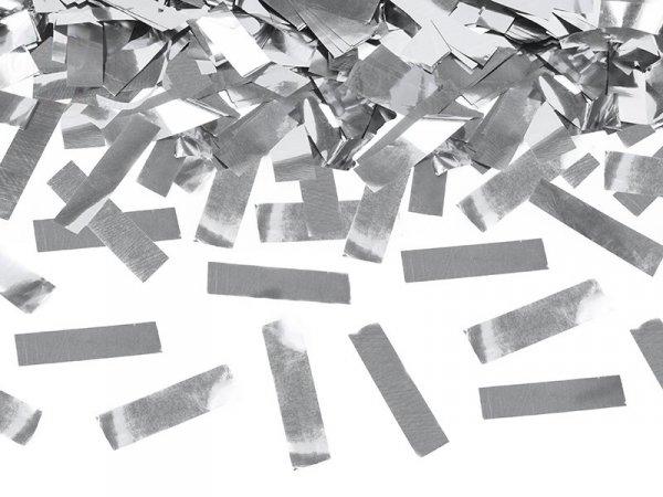 Tuba strzelająca srebrnym metalicznym konfetti 80c