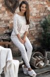 Piżama damska w renifery Sensis Alive świąteczna