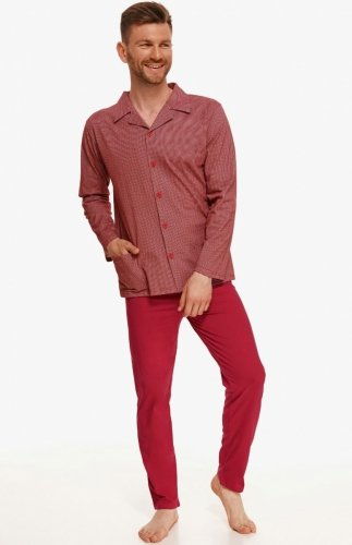 Piżama męska rozpianana Taro Richard 2635