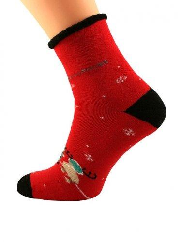 Skarpety Bratex 0907 X-Mass Socks damskie