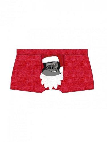 Bokserki Cornette 047/35 Gorilla Merry Christmas