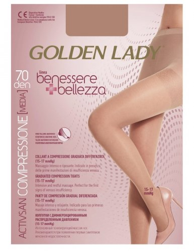Rajstopy Golden Lady Benessere & Bellezza 70 den