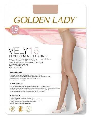 Rajstopy Golden Lady  Vely 15 den
