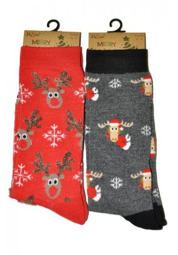 Skarpety RiSocks Merry Christmas 3058 męskie