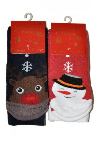 Skarpety WiK 5418 Thermo Christmas