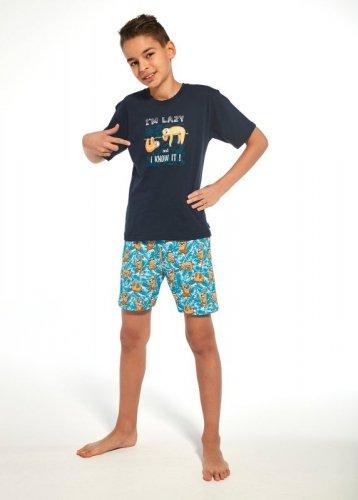 Piżama Cornette Kids Boy 789/75 I'm Lazy kr/r 86-128