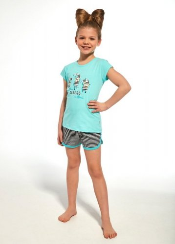 Piżama Cornette Young Girl 248/66 Zebra kr/r 134-164