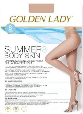 Rajstopy Golden Lady Summer Body Skin 8 den 2-4