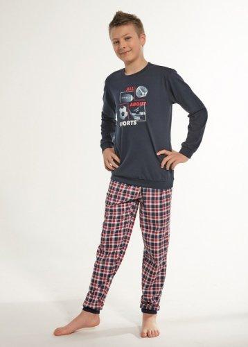 Piżama Cornette Kids Boy 593/100 Sport dł/r 86-128