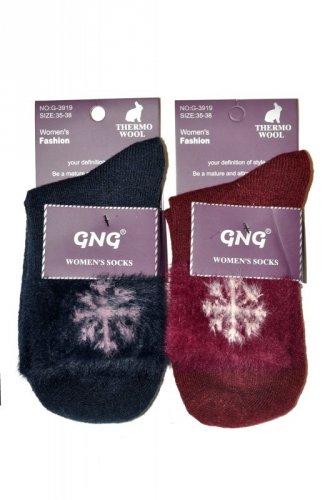 Skarpety GNG 911-03 Thermo Wool śnieżynka