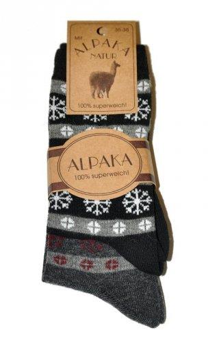 Skarpety RiSocks Alpaka Wolle 2216 A'2