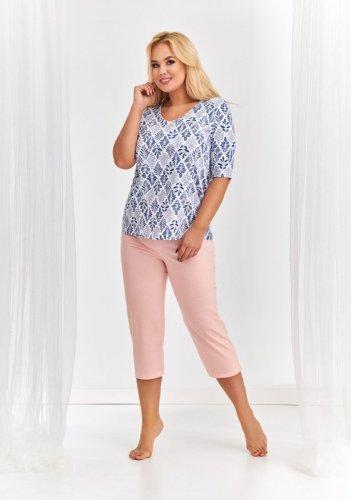 Piżama Taro 2373 Lidia kr/r 4XL-5XL 'L20