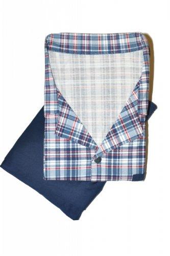 Piżama Cornette 318/38 kr/r 3XL-5XL Rozpinana męska