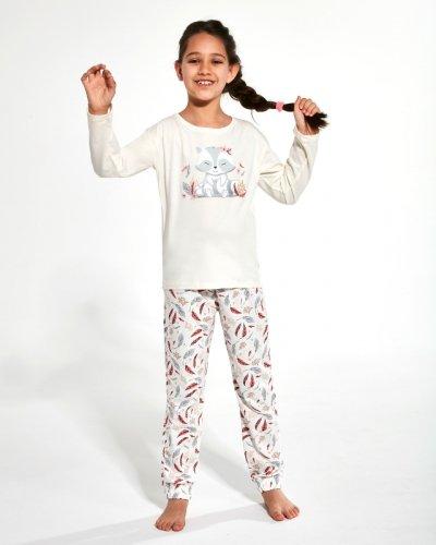 Piżama Cornette Young Girl 973/125 Raccon 2 dł/r 134-164
