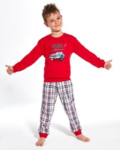 Piżama Cornette Kids Boy 593/104 Cabrio dł/r 86-128