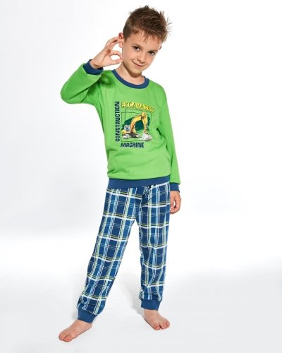 Piżama Cornette Kids Boy 593/103 Machine dł/r 86-128