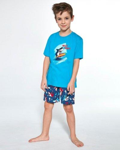 Piżama Cornette Kids Boy 789/90 Shark kr/r 86-128