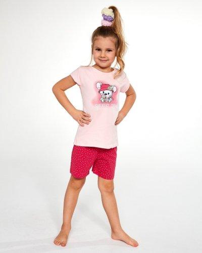Piżama Cornette Kids Girl 787/85 Little Mouse kr/r 86-128