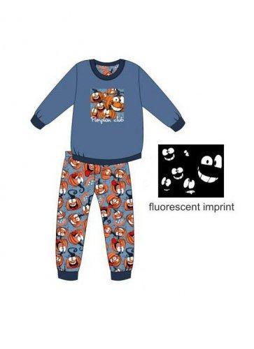 Piżama Cornette Kids Boy 976/123 Pumpkin dł/r 86-128