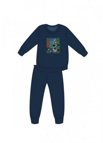 Piżama Cornette Young Boy 267/120 Game On dł/r 134-164