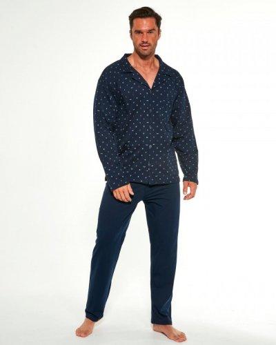 Piżama Cornette 114/51 244602 dł/r M-2XL Rozpinana męska
