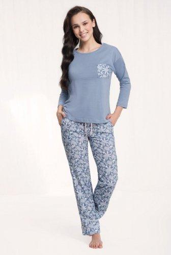 Piżama Luna 494 dł/r 3XL damska