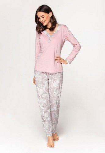 Piżama Cana 579 dł/r 3XL