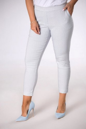 spodnie z printem