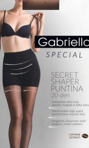 Rajstopy Gabriella 680 Secret Shaper Puntina 20 den