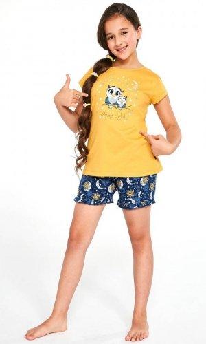Piżama Cornette Kids Girl 488/86 Owls kr/r 86-128