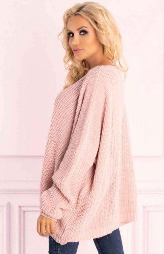 Sweter Merribel Amardanis różowy
