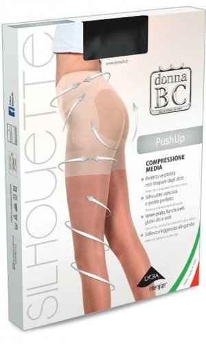 Rajstopy Donna B.C. Push Up 5-XXL 20 den