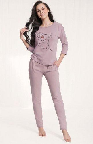 Piżama damska Luna 521 7/8 3XL