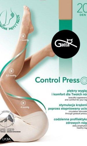 Rajstopy Gatta Control Press 20 den 2-5