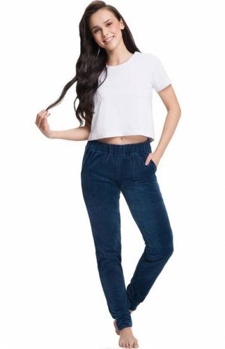 Spodnie dresowe welurowe Luna 310