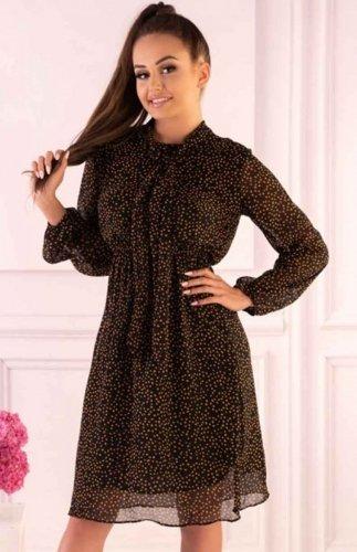 Sukienka szyfonowa Alinga Brown