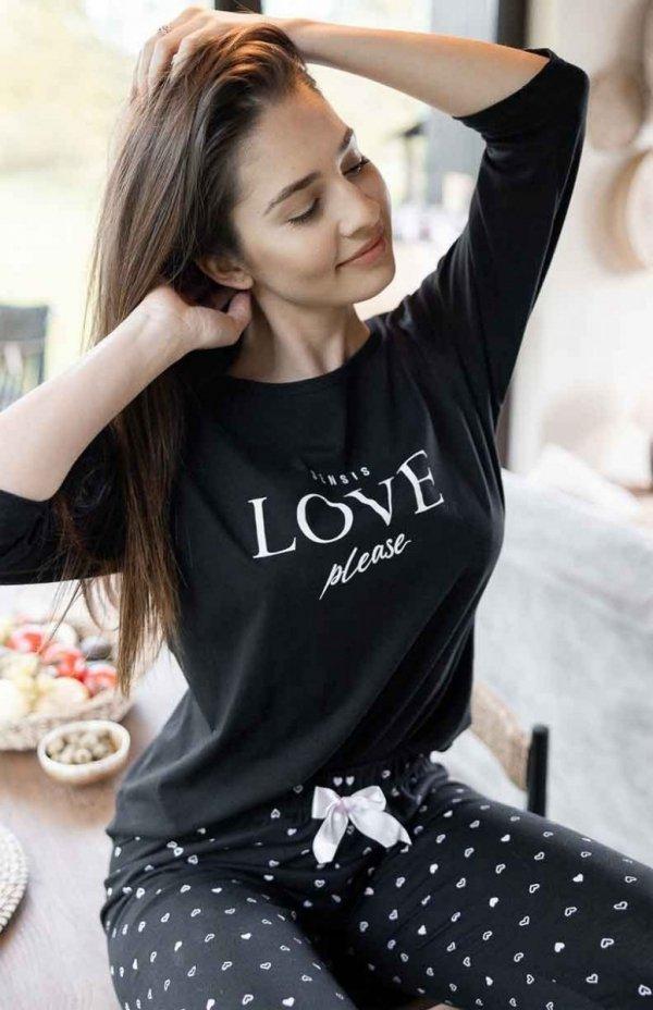 Piżama damska Sensis Love Please 3/4