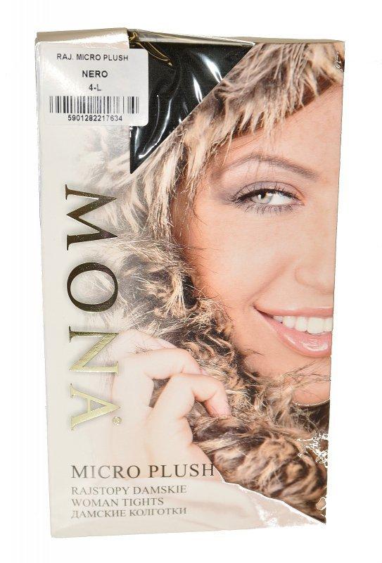Rajstopy Mona Micro Plush 200 den 5-XL