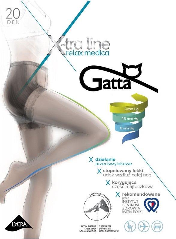 Rajstopy Gatta Body Relax Medica 20 den 2-4