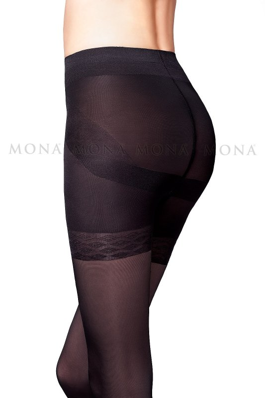 Rajstopy Mona Push-Up 40 den 5-XL