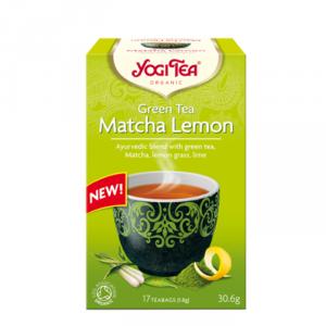 Yogi Tea zielona matcha cytrynowa (Green Tea Matcha Lemon)
