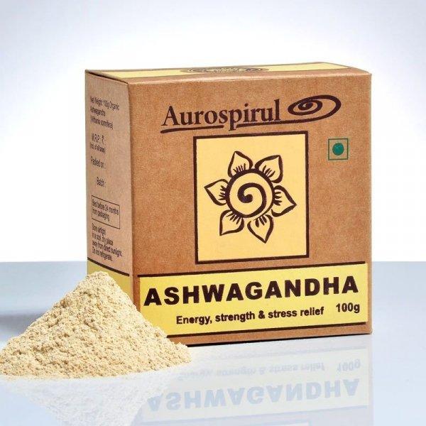 Ashwagandha - Aurospirul, w proszku 100g