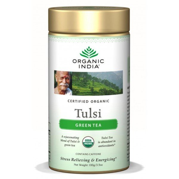 Organic India Tulsi Green Tea 100 g - sypana